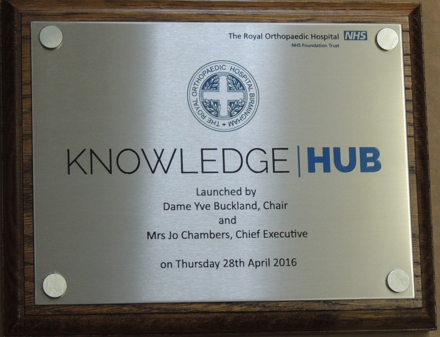 end result a perfect stainless steel plaque